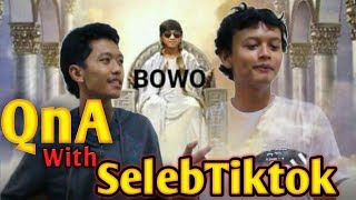 "Download Video Wawancara artis tiktok ""BOWO"" 