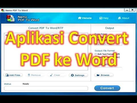 Offline word pdf to