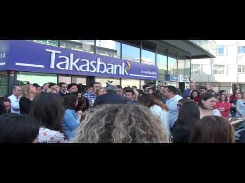 Takasbank Murat ULUS'u alkışlarla uğurladı