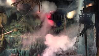 IOA 8th Voyage of Sindbad Pyro Demonstration