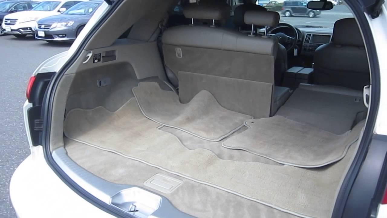 2004 infiniti fx45 whiwhite stock b2638a trunk youtube 2004 infiniti fx45 whiwhite stock b2638a trunk vanachro Choice Image
