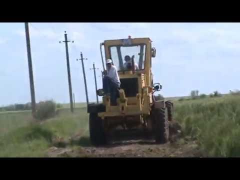 Планировка щебня трактором видео фото 96-96
