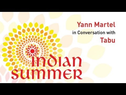 Yann Martel in Conversation with Tabu