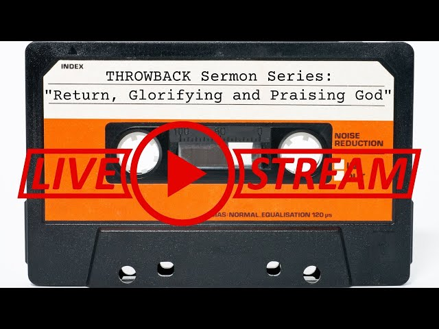 July 25, Pastor Amy, THROWBACK Sermon Series,