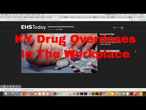Kentucky Workplace Drug Overdoses Caused Changes In Policy