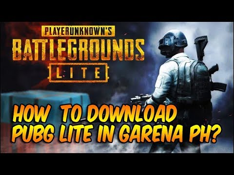 HOW TO DOWNLOAD PUBG LITE IN GARENA? || FILIPINO ||
