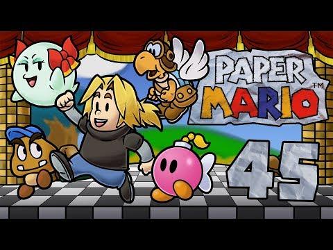 Let's Play Paper Mario [German][#45] - Wagemutig in den Vulkan!