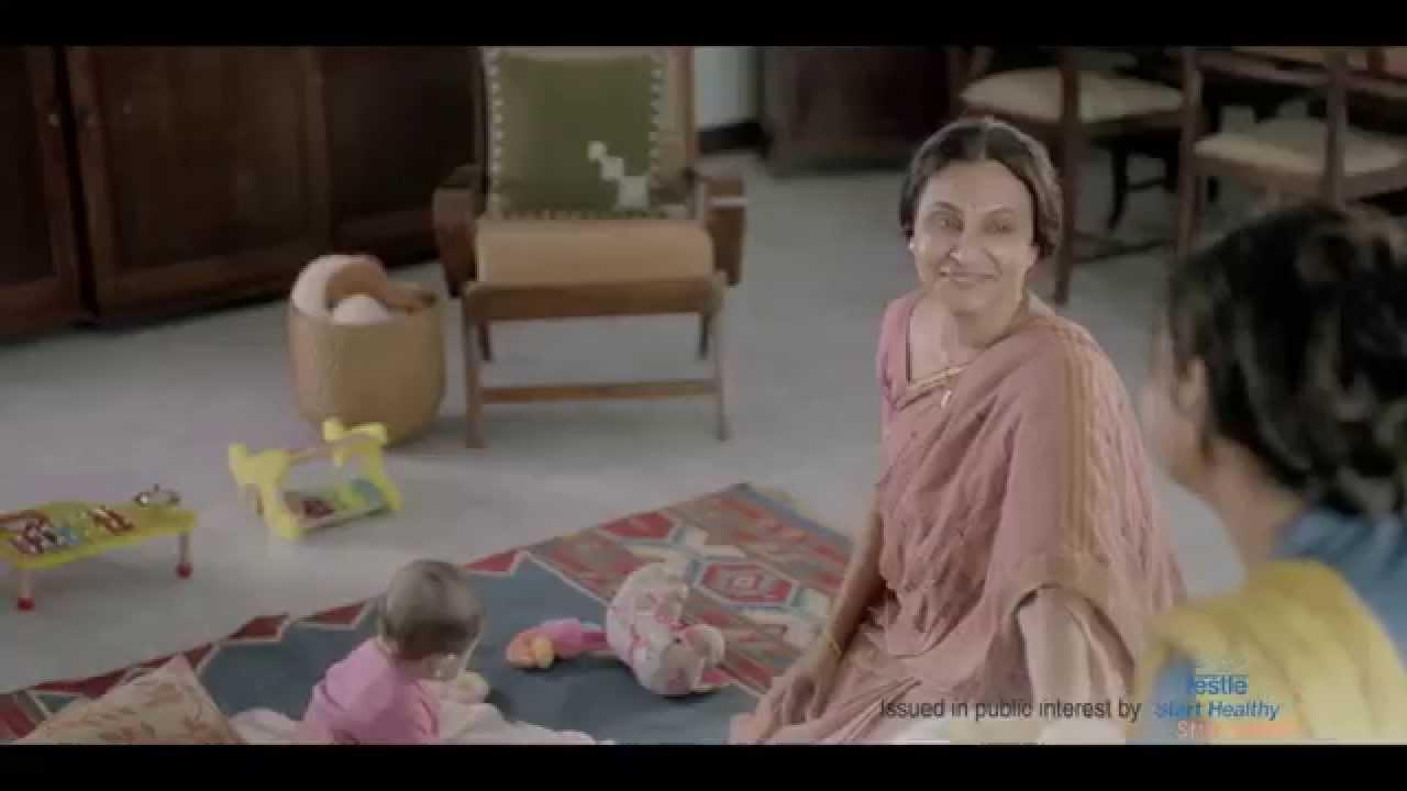 grandmother breastfeeding grandchild video er