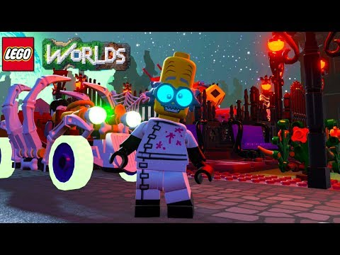 LEGO Worlds Monster Scientist Unlock Code and Free Roam Gameplay (Monsters DLC)