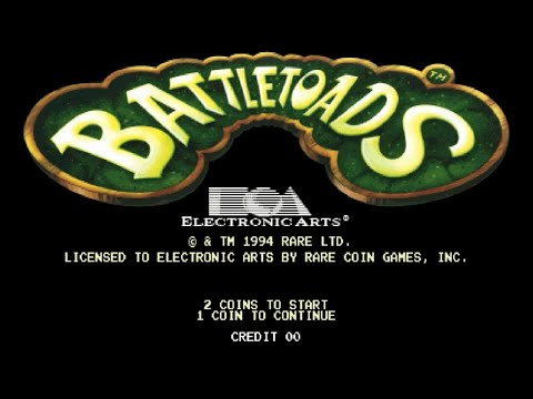 Battletoads [Arcade] Part 1: More Blood For The Toads