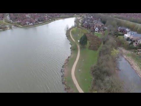 Phantom 4 / Furzton lake / Milton Keynes