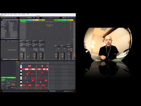 Ableton Live 9.6 + Maschine Workflow - A Dub Techno Track Build