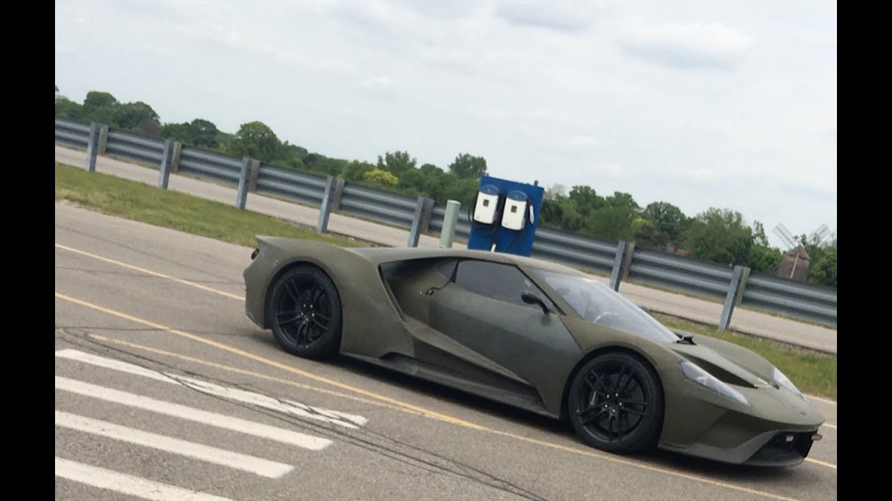 I Found This Rare  Ford Gt Prototype At Fords Secret Test Track