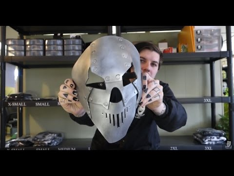 Slipknot Mick Thomson IOWA Mask Unboxing