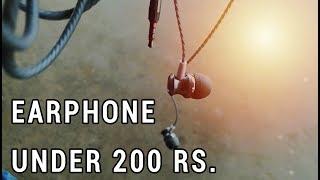 Best Earphone Under Rs. 200   Plaza PL 501 Earphone Review - HINDI