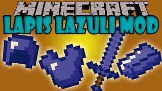 LAPIS LAZULI MOD - Herramientas, armaduras y mas! - Minecraft mod 1.5.2 y 1.6.4 Review ESPAÑOL