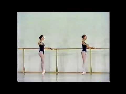 Урок классического танца 4 класс вагановка видео