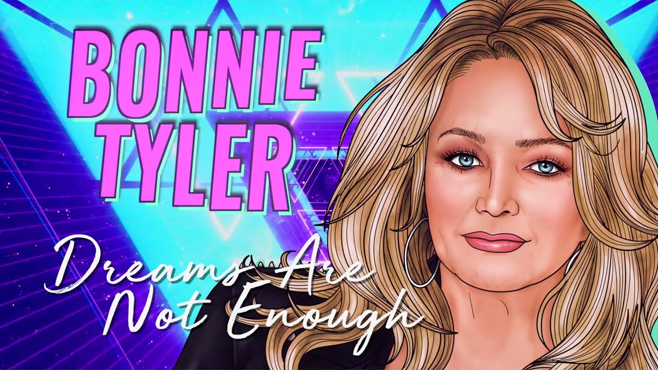 """Bonnie Tyler - """"Dreams Are Not Enough"""" - Official Music Video - New album """"The Best Is Yet To Come"""""""