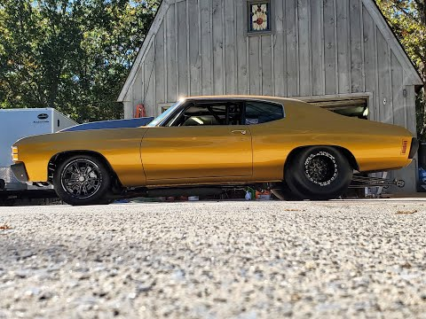 1971 Chevrolet Chevelle SS Race Car For Sale~750 Cert Chassis~427 Dynoed At 860hp~FRESH BUILD!
