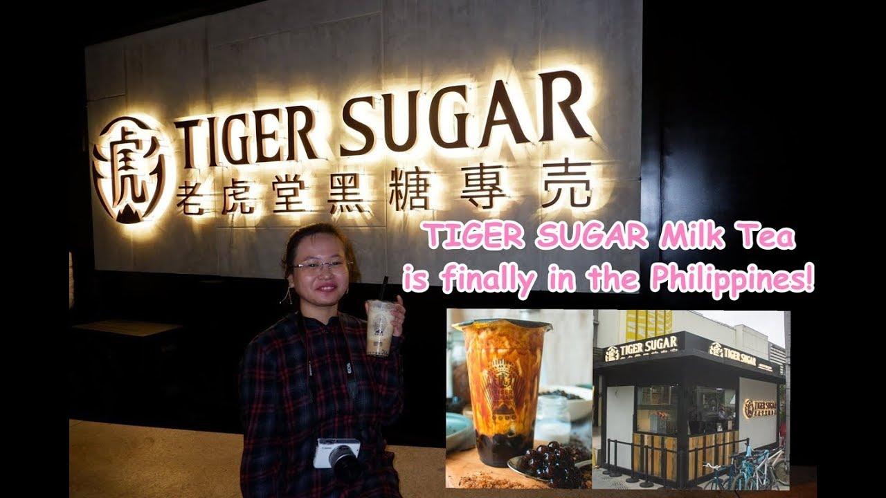 Tiger Sugar Milk Tea | The Instagram- famous milk tea is finally in the  Philippines! 😍🥤📸