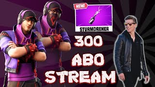 Fortnite Live ! Patch V.9.20 ! Storm turner is here !! 300 Subscription Special ! Abozocken/Custom Games