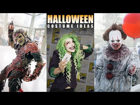 150 Halloween Costume Ideas - Scary Cosplay Music Video - 2019