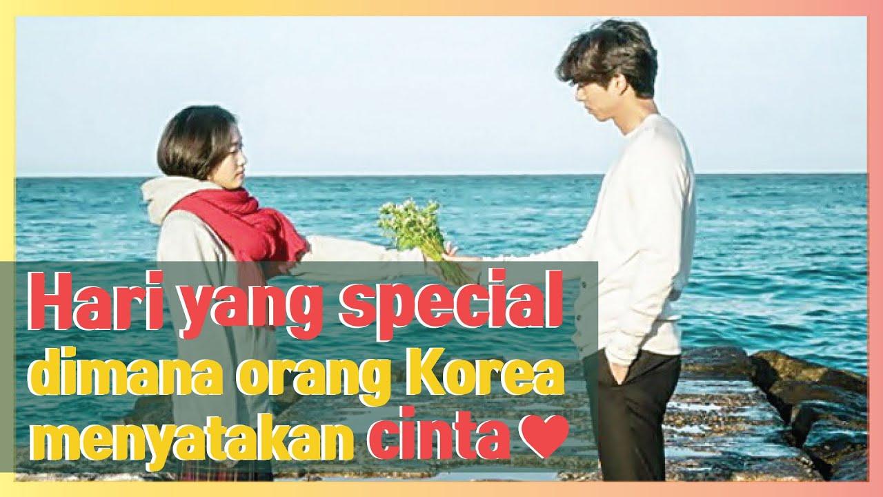 Hari Yang Spesial Dimana Orang Korea Menyatakan Cinta ♥