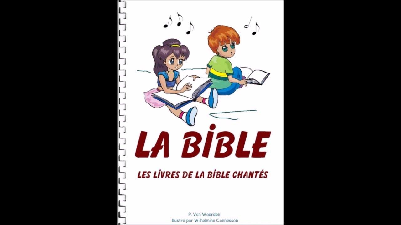 chanson pour apprendre les livres de la bible aux enfants