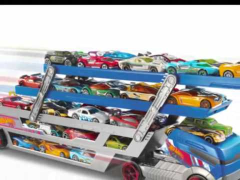 hot wheels turbo hauler camion jouet transporteur de. Black Bedroom Furniture Sets. Home Design Ideas