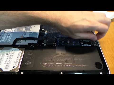 """MacBook Pro 13"""" disassembly and gatorade spill cleanup."""