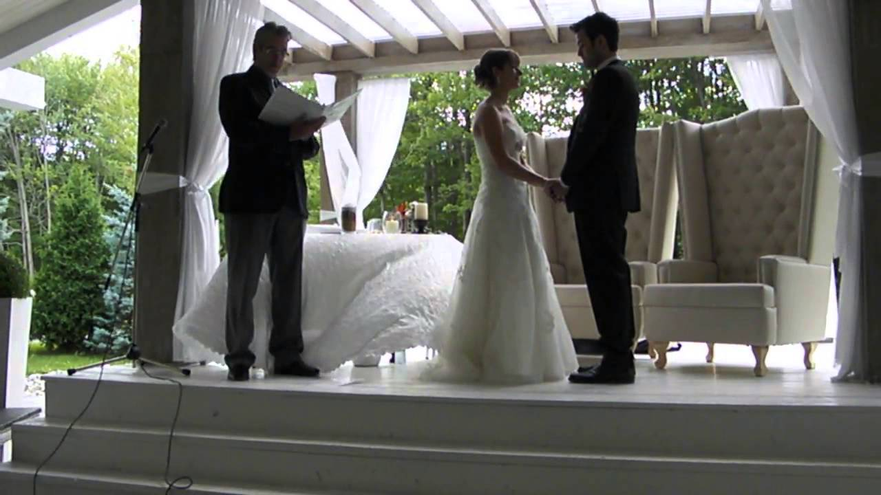 mariage maryse et alexandre discours du c l brant youtube. Black Bedroom Furniture Sets. Home Design Ideas