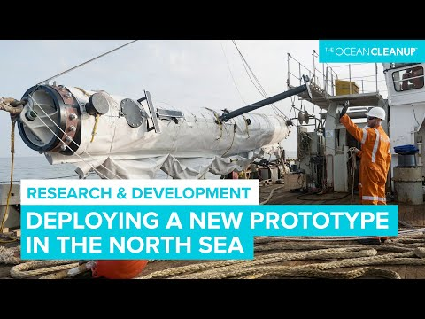 The Ocean Cleanup's new North Sea Prototype