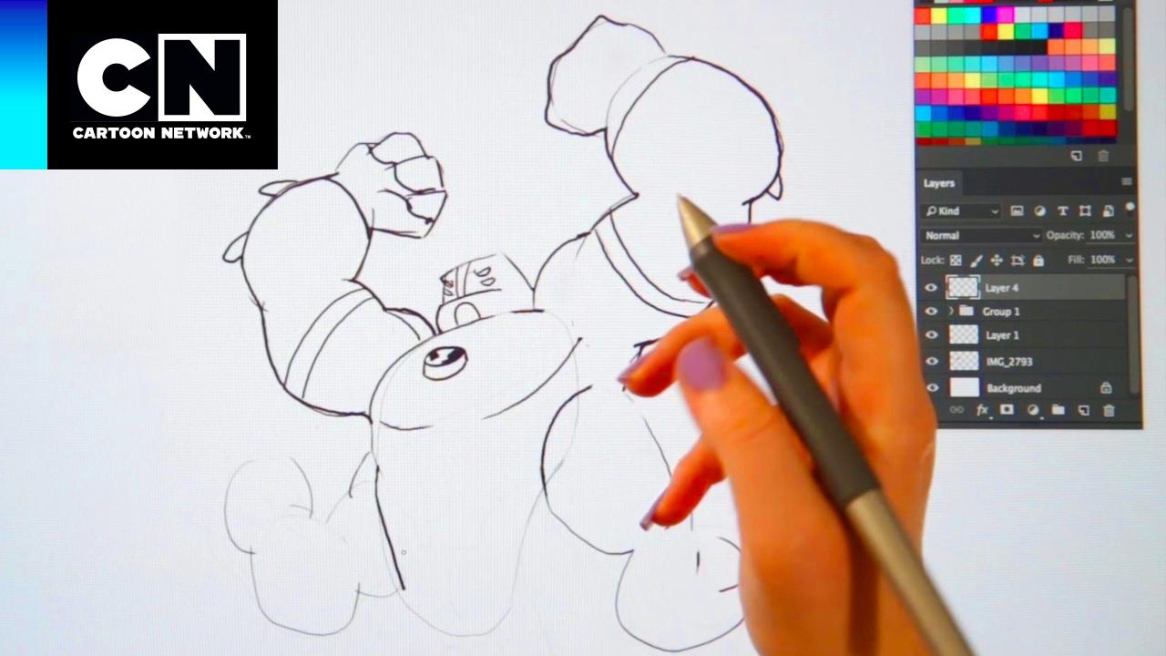 Aprende a dibujar a Cuatrobrazos! | Ben 10 | Cartoon Network - YouTube