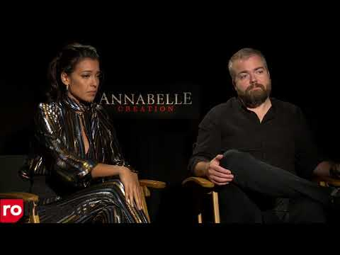 Annabelle 2  with Stephanie Sigman & David Sandberg