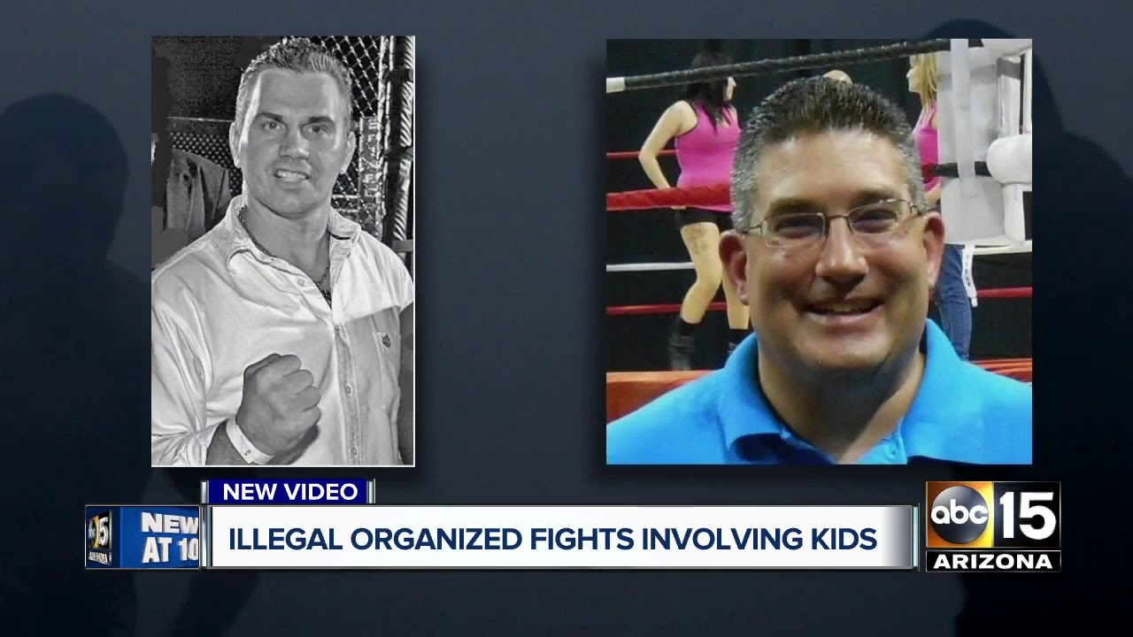 Illegal fighting ring involving children busted in the Valley