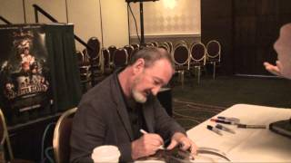 Robert Englund aka Freddy Krueger Autograph Signing @ Monster Mania Horror Convention 2008
