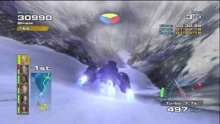 Quantum Redshift Gameplay - Mount Grauen