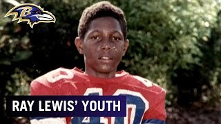 Ray Lewis Talks About His Youth Football Years | Baltimore Ravens