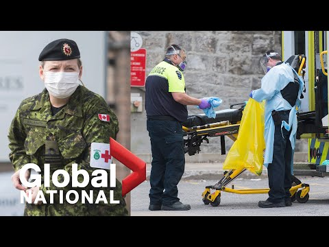 Global National: May 7, 2020 | Canadian Forces addressing crisis at care homes in Ontario, Quebec
