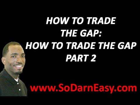 Forex Trading: Trading The Gap Part 2 - Yusef Scott