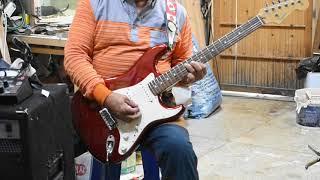 화원전통시장 기타리스트(굳세어라 금순아)