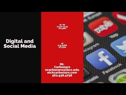 Fall 2017: GBUS 25-Digital and Social Media Class Information