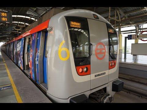 【インド旅行記・India Travel】地下鉄でカシミリゲート(Kashmere Gate)まで乗り鉄、ニューデリーを流れるヤムナー河を一目見る【New Delhi・Yellow Line】
