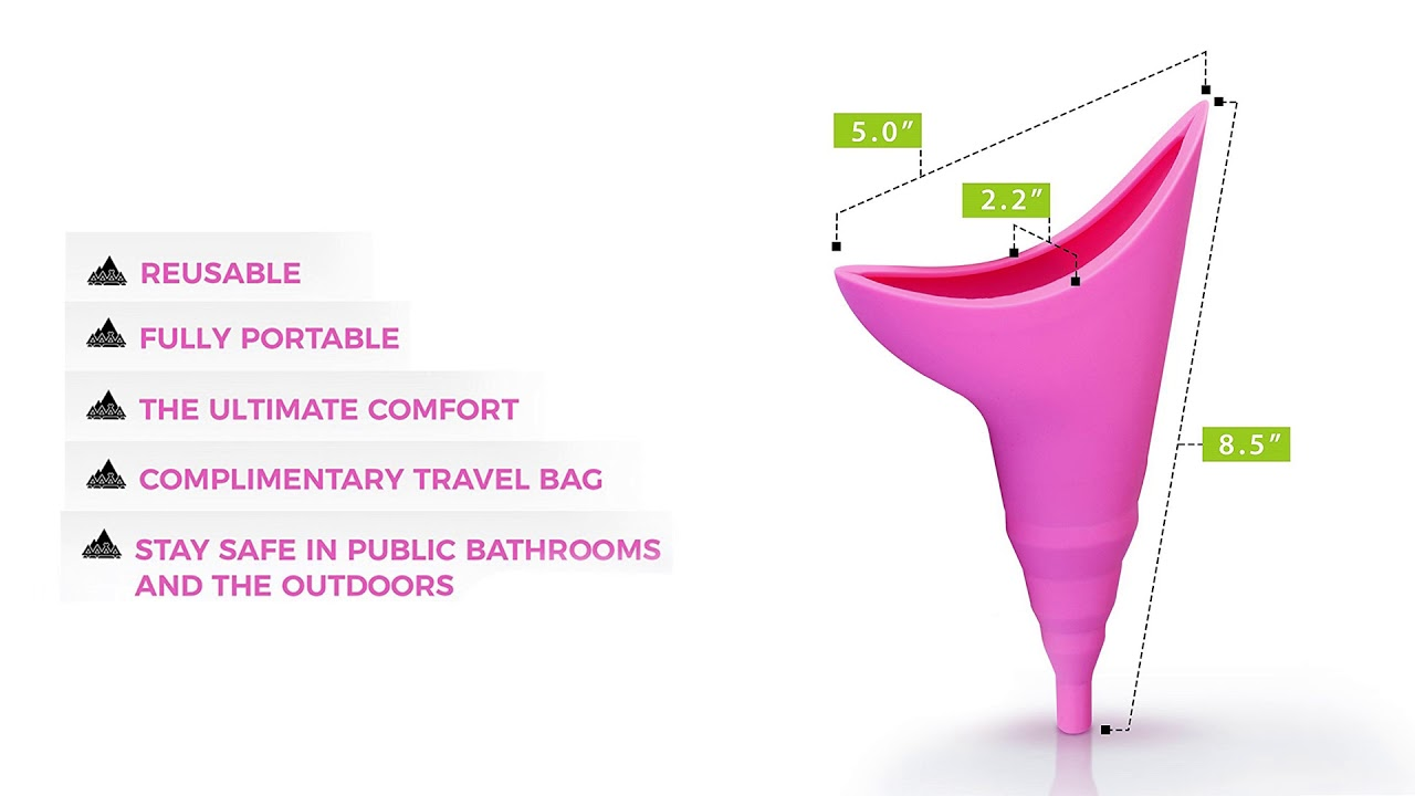 Female Urination Device-Lets Women Pee Standing Up Portable Female Urinal Device