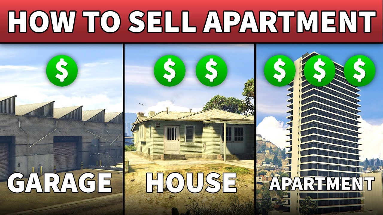 can you sell your apartment in gta five online