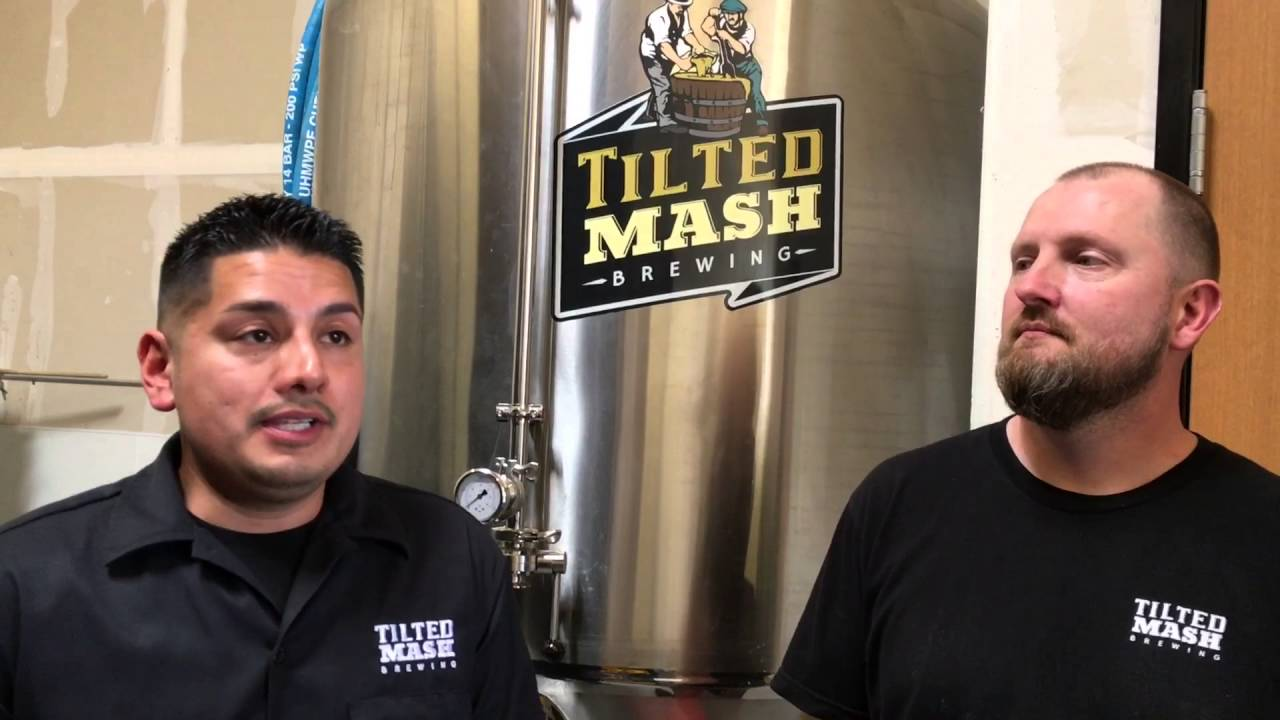 Tilted Mash Brewing in Elk Grove, CA interview with founders