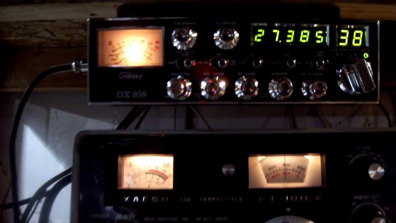 FCC Scrambling The C B  Band Spectrum