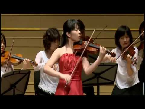 第1回JASTAフレッシュコンサート BACH:Violin Concerto No.1 A minor BWV1041 1st mov.