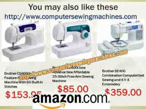 se400 sewing machine review