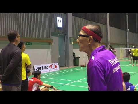 2017 SAWASDEE CUP 楊書柔 吳霽軒vs泰國隊
